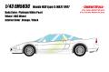 [予約]EIDOLON (アイドロン) 1/43 ホンダ NSX タイプS (NA2) 1997 プラチナホワイトパール (限定50台、国内販売25台)