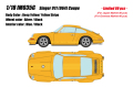 [予約]IDEA(イデア) 1/18 シンガー 911 (964) クーペ イエロー (イエローストライプ) ※限定80台、国内販売40台)