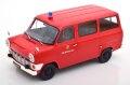 [予約]KK Scale 1/18 Ford Transit Bus 1965-1970 Feuerwehr Germany, red