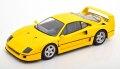 [予約]KK Scale 1/18 Ferrari F40 1987 yellow