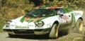[予約]SunStar(サンスター) 1/18 ランチア ストラトス HF 1976年Rallye Sanremo 2位 #1 S.Munari/S.Maiga (泥はね仕様)