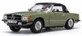 [予約]SunStar(サンスター) 1/18 メルセデス・ベンツ 350 SL クローズド コンバーチブル 1977 Cypress グリーン