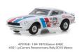 グリーンライト 1/64 Tokyo Torque Series 3  - 1970 ダットサン 240Z - #301 La Carrera Panamericana Rally 2015 Mexico