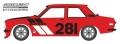 [予約]グリーンライト 1/64 Tokyo Torque Series 6 - 1970年 ダットサン 510 #281 Turn Right Racing