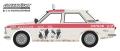 グリーンライト 1/64 Tokyo Torque Series 7 - 1969 Datsun 510 4-Door Sedan - #89 Brock Racing Enterprises (BRE) Peter Brock Mexican 1000
