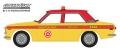 グリーンライト 1/64 Tokyo Torque Series 7 - 1970 Datsun 510 4-Door Sedan - Custom Taxi Solid