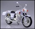 スカイネット 1/12 完成品バイク ホンダ CB750FOUR(K0) 白バイ