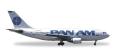 """[予約]herpa wings 1/500 A310-200 パンアメリカン航空 N806PA """"Clipper Betsy Ross"""""""