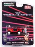 [予約]グリーンライト 1/64  『ターミネーター』 1983 ジープ CJ-7 レネゲード with サラ・コナーズ ※並行輸入品