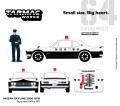 [予約]Tarmac(ターマック)× グリーンライト 1/64 Japanese Police 1971 日産 スカイライン 2000 GT-R ※警官フィギュア1体 付属