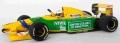 [予約]MINICHAMPS(ミニチャンプス) 1/43 ベネトン フォード B192 ミハエル・シューマッハー  ベルギーGP 1992 F1初優勝レース
