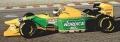MINICHAMPS(ミニチャンプス) 1/43 ベネトン フォード B193B ミハエル・シューマッハ ポルトガルGP 1993 ウィナー