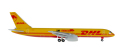 """herpa wings 1/500 757-200F DHL """"Eliska´s Return to Africa"""""""