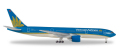 herpa wings 1/500 777-200 ベトナム航空 VN-A146