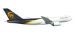 [予約]herpa wings 1/500 747-8F UPS 航空 N605UP