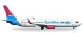 [予約]herpa wings 1/500 737-800 サフエアー ZS-SJS