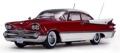 [予約]SunStar(サンスター) 1/18 ダッジ カスタム ローヤル ランサー ハードトップ 1959 ルビーパール