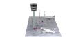 [予約]herpa wings 1/200 Scenix 管制塔組み立てキット 高さ約39cm