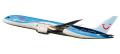 herpa wings 1/200 787-8 TUI航空 (アークフライ) ※プラスチック製、スナップフィット
