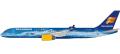 herpa wings 1/200 757-200 アイスランド航空 創立80周年記念塗装 TF-FIR ※プラスチック製、スナップフィット