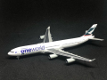 【SALE】hogan wings 1/500 A340-300 キャセイパシィフィック航空 One World 特別塗装 B-HXG