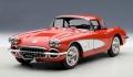 AUTOart (オートアート) 1/18 シボレー コルベット 1958 (レッド)
