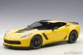 AUTOart (オートアート) コンポジットダイキャストモデル 1/18 シボレー コルベット (C7) Z06 C7.R エディション (イエロー) ※再生産価格変更