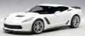 [予約]AUTOart (オートアート・コンポジットモデル) 1/18 シボレー コルベット (C7) Z06 (ホワイト)