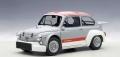 AUTOart (オートアート) 1/18 フィアット アバルト 1000 TCR (グレー/レッド・ストライプ)
