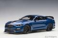[予約]AUTOart (オートアート) コンポジットダイキャストモデル 1/18 フォード シェルビー GT350R (メタリック・ブルー/ブラック・ストライプ)