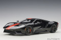 [予約]AUTOart (オートアート) コンポジットダイキャストモデル 1/18 フォード GT 2017 (ブラック/オレンジ・ストライプ)