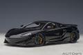 [予約]AUTOart (オートアート) コンポジットダイキャストモデル 1/18 マクラーレン 600LT (ブラック/カーボン・ルーフ)