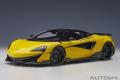 [予約]AUTOart (オートアート) コンポジットダイキャストモデル 1/18 マクラーレン 600LT (イエロー・パール/カーボン・ルーフ)