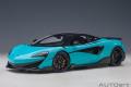 [予約]AUTOart (オートアート) コンポジットダイキャストモデル 1/18 マクラーレン 600LT (ライトブルー・パール/カーボン・ルーフ)