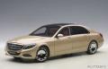 AUTOart (オートアート) コンポジットモデル 1/18 メルセデス・マイバッハ S 600 (シャンパン・ゴールド)