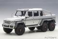 [予約]AUTOart (オートアート) コンポジットダイキャストモデル 1/18 メルセデス・ベンツ G63 AMG 6X6 (シルバー) ※再生産価格変更