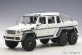 [予約]AUTOart (オートアート) コンポジットダイキャストモデル 1/18 メルセデス・ベンツ G63 AMG 6X6 (マット・ホワイト) ※再生産価格変更