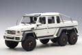 AUTOart (オートアート) 1/18 メルセデス ベンツ G63 AMG 6X6 (マット・ホワイト)