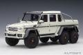 [予約]AUTOart (オートアート) コンポジットダイキャストモデル 1/18 メルセデス・ベンツ G63 AMG 6X6 (パール・ホワイト)