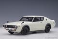 AUTOart (オートアート) コンポジットダイキャストモデル 1/18 日産 スカイライン 2000 GT-R (KPGC110) (ホワイト)