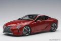 AUTOart (オートアート) コンポジットモデル 1/18 レクサス LC500 (メタリック・レッド ※インテリア・カラー/タン)