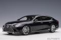 [予約]AUTOart (オートアート) コンポジットダイキャストモデル 1/18 レクサス LS500h (ブラック ※インテリア・カラー/ブラック)
