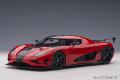 [予約]AUTOart (オートアート) コンポジットダイキャストモデル 1/18 ケーニグセグ アゲーラ RS (レッド/カーボンブラック)