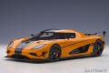 [予約]AUTOart (オートアート) コンポジットダイキャストモデル 1/18 ケーニグセグ アゲーラ RS (オレンジ/カーボンブラック)