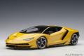 AUTOart (オートアート) コンポジットダイキャストモデル 1/18 ランボルギーニ チェンテナリオ (メタリック・イエロー)