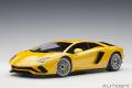 [予約]AUTOart (オートアート) コンポジットダイキャストモデル 1/18 ランボルギーニ アヴェンタドール S (メタリック・イエロー)