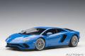 [予約]AUTOart (オートアート) コンポジットダイキャストモデル 1/18 ランボルギーニ アヴェンタドール S (パール・ブルー)