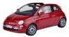[予約]MOTORMAX(モーターマックス) 1/18 フィアット Nova 500 Cabrio レッド(ドア・フードオープン)
