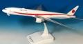 エバーライズ 1/200 777-300ER 日本政府専用機 80-1112 ※プラスチック製、スナップフィット、プラスチックスタンド仕様