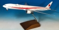 エバーライズ 1/200 777-300ER 日本政府専用機 80-1112 ※プラスチック製、スナップフィット、木製スタンド仕様